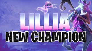 NEW CHAMPION REVEAL // Lillia First Impressions - The Tank Mage Jungler