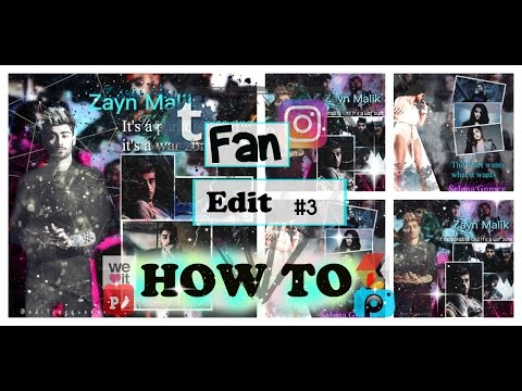 How To : make fan edits #3 for instagram/tumblr