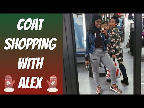 Shopping For A Winter Coat   Come Shopping With Us Vlogmas Day 17