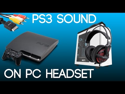 Get your PS3 Game sound on your USB Headphones/Headset on your PC