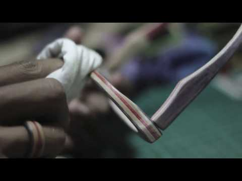 Loosewood Handcrafted - Making of sunglasses