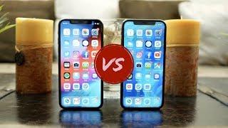 Apple iPhone Xs VS iPhone X - It