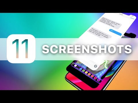 How to take screenshots on iPhone with iOS 11