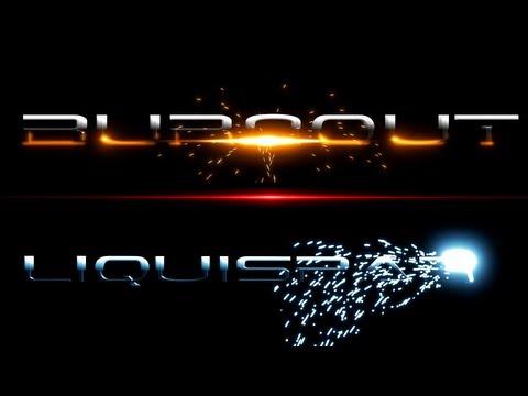 Free Blender Intro Templates - Burnout + Liquispark