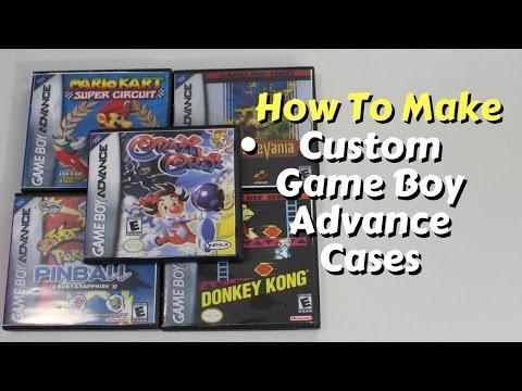 How To Make Custom Game Boy Advance (GBA) Cases