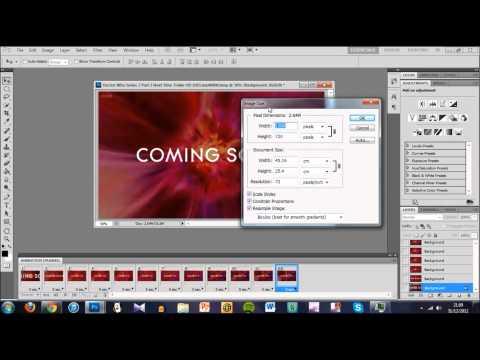 Photoshop CS5 GIF Tutorial
