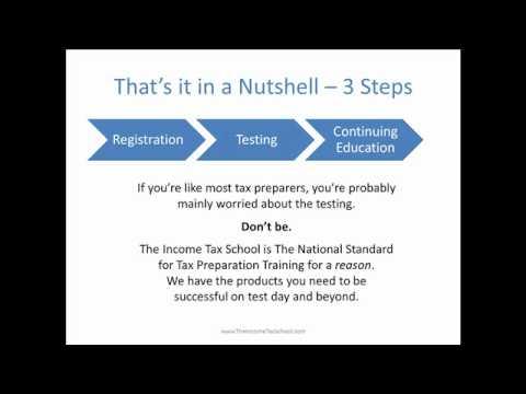 IRS Tax Preparer Regulations for Current Tax Preparers