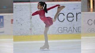 Nayfa Ikut Lomba Ice Skating di Bangkok