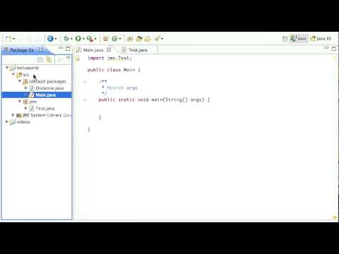 Java Packages in Eclipse Tutorial