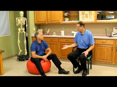 The Correct Sizing or Size for an Exercise Ball, PhysioBall, or SwissBall.