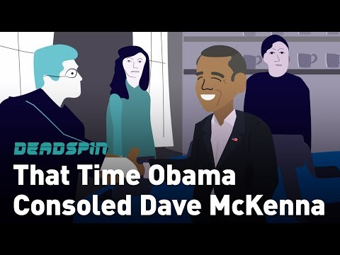 That Time Obama Consoled Dave McKenna