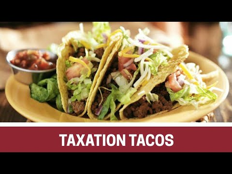 Taxation Tacos - Easy, safe and fast — that's direct deposit.