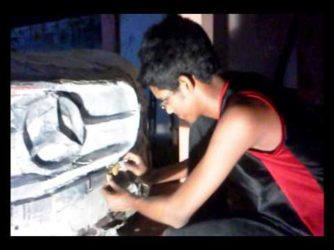 How to make car with paper