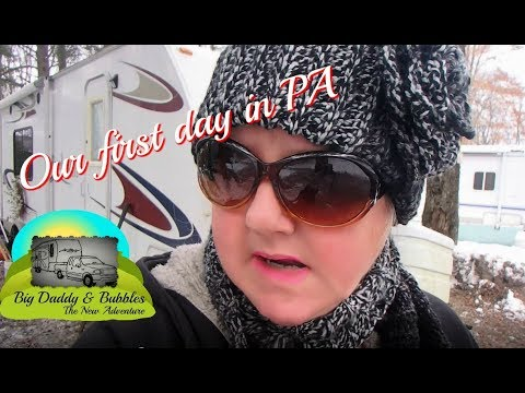 Our first day in PA - RV Life