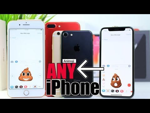 How to Get Animoji on ANY iPhone iOS 11