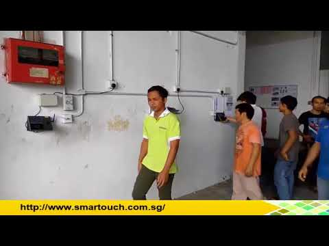 Biometric Fingerprint Access Control Malaysia : Waterproof TF1700 Overview and  Features with Demo
