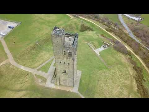 Castle Hill - Huddersfield - 4K Drone Footage