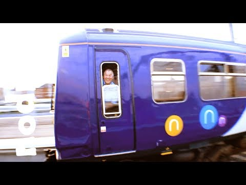 FIRST 319 CAB RIDE Blackpool North to Depot -  Northern Trains