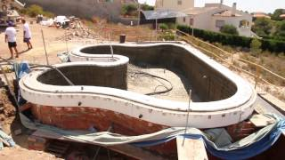 como hacer piscina desbordante con curvas con el sistema poolppm sencillo rpido with hacer piscina casera - Como Construir Una Piscina