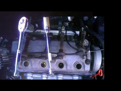 Remove Spark Plugs to check or clean. CIVIC