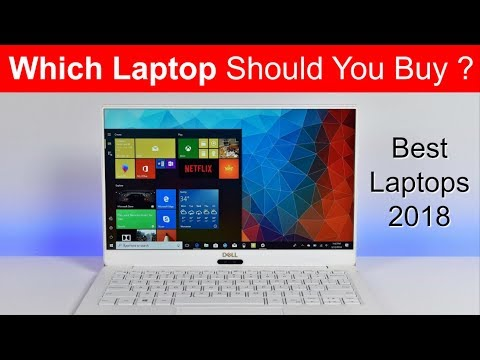 The Best Laptops You Can Buy in 2018