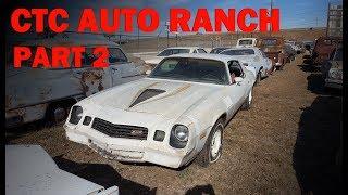 Exploring a HUGE Classic Car Graveyard! CTC Auto Ranch -- Part 2