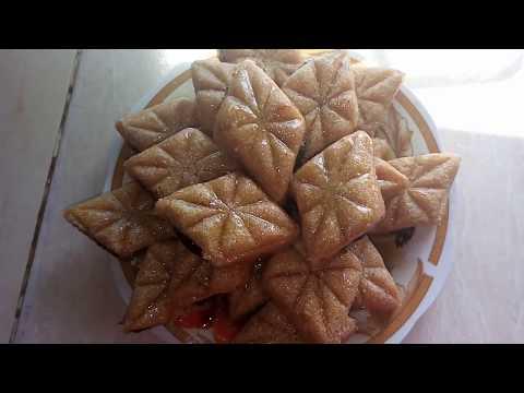 حلوى جزائرية للعيد : كيفية تحضير مقروض   مع ديهيا و ام ديهيا