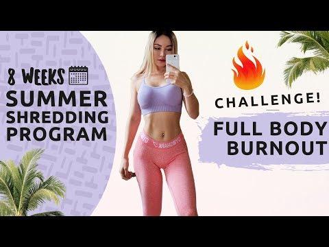 BLAST FAT IN 10 MINS | Full Body BURN-OUT Workout | Summer Shredding