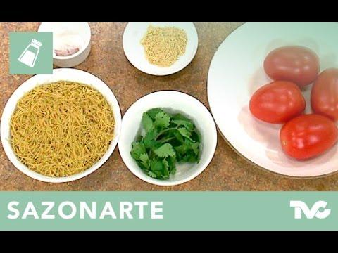 Receta para preparar sopa de fideo