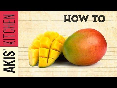 How to cut a Mango | Akis Kitchen