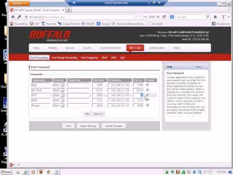 FileZilla Port Forwarding