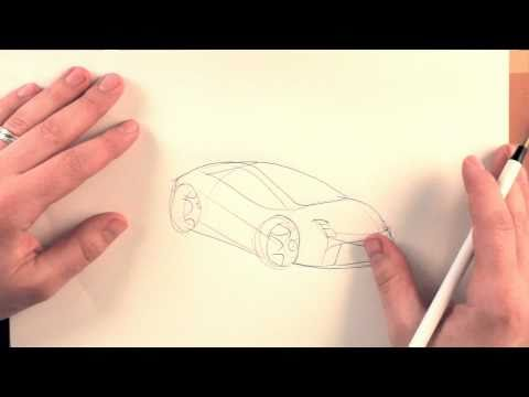 How To Draw Cars: Flip Your Paper Over!
