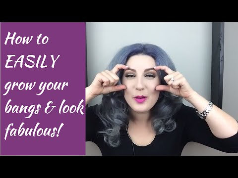 How to EASILY grow out your bangs and look fabulous!