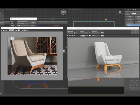 3ds max tutorial - jasper chair fast with 15 minutes.