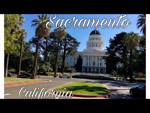 A Day in Sacramento, California