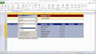 Creating a simple macro in Excel 2010 - Part 1