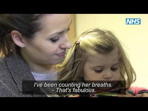 NHS Looking after a child with fever - a guide for parents and carers, with Subtitles