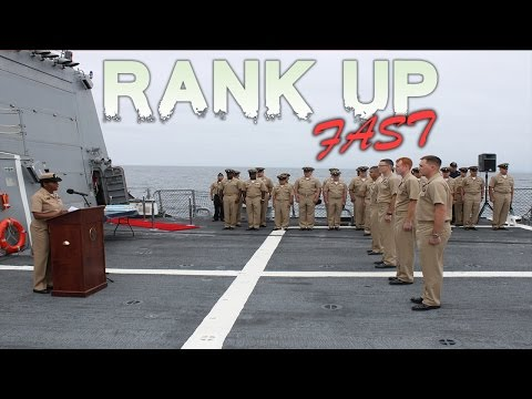 How To RANK UP FAST In The Navy