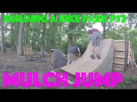 BUILDING MASSiVE MULCH JUMP !!!!!!
