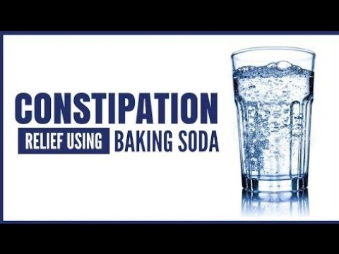 Baking Soda For Constipation Relief |A Laxative Recipe| Ultraremedy