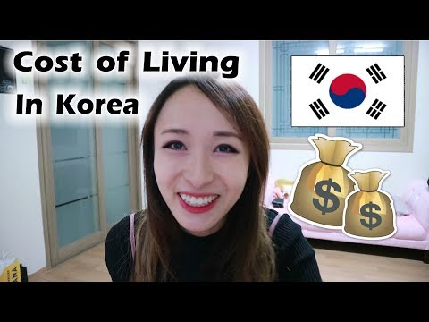 Cost of Living in Korea | What I Spend in a Month & Let's Go Shopping!