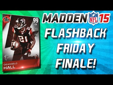 Madden 15 Ultimate Team - FLASHBACK FRIDAY FINALE! E3 Talk - Joe Montana, Live 16, Fallout 4
