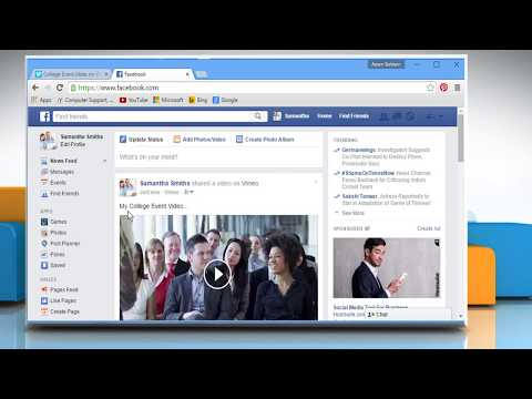 How to share your Vimeo® video on a Facebook® page