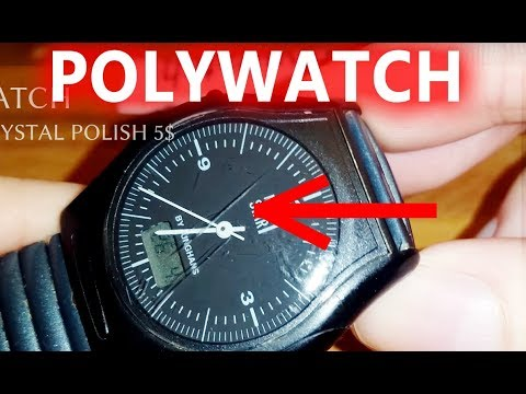 Polywatch polish tested with deep scratches (works well) 4K