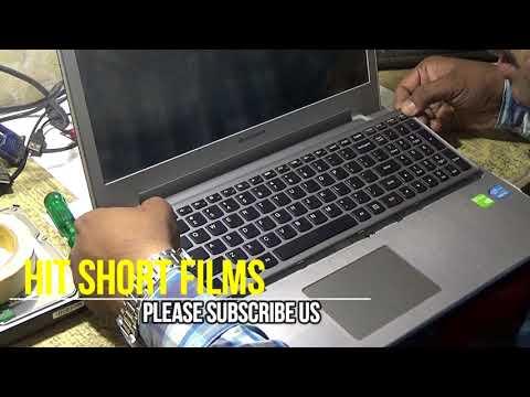 Lenovo Z500 Disassemble for Keyboard Replacment