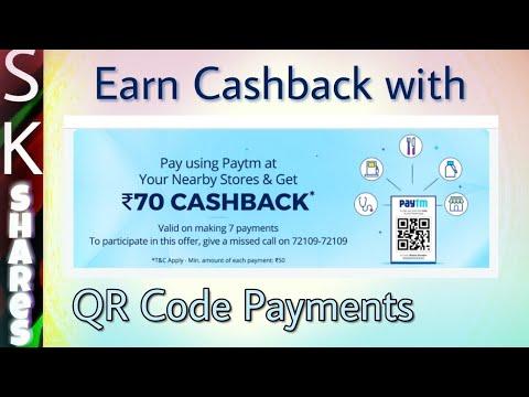 [Valid till 28'Feb] Paytm QR CODE Payment Cashback offer