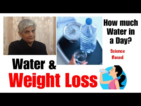 Water and Weight Loss | How Water Helps in Weight Loss| How much water in a Day ?