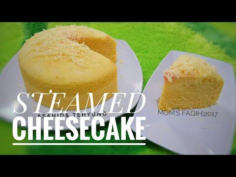Cara Membuat Bolu Kukus Keju (Cheesecake)