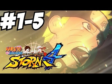 Naruto Shippuden Ultimate Ninja Storm 4 Gameplay Walkthrough Part 1 Let's Play Review 1080p HD