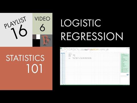Statistics 101: Logistic Regression in Excel / Google Sheets, PC / Mac